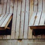 Ouvertures modulables créées dans un bardage bois existant